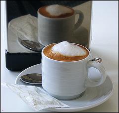 Double espresso ... macchiato doppio