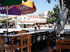Eski Foca, im Café 2