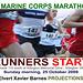 RunnersStart.MCM.Route110.ArlingtonVA.25October2009