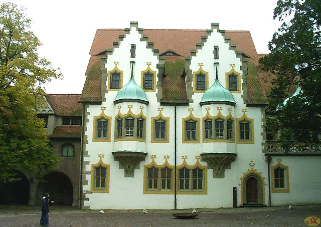 2009-10-24 1 Halle, kastelo Moritzburg