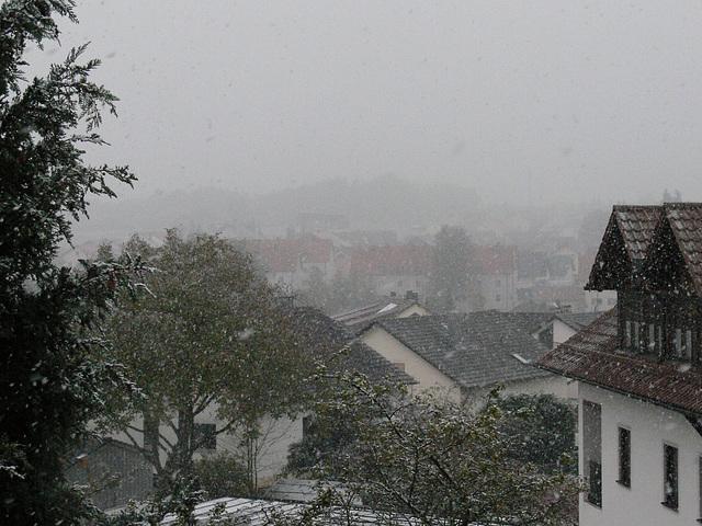 Wintereinbruch 2009-10-15