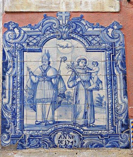 Azulejo in Alfama