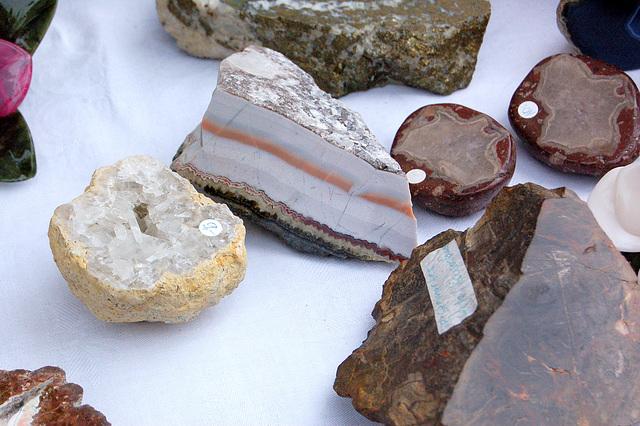 belaj ŝtonoj - schöne Steine