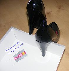 Closer -  Escarpins de mariage avec talons de 12 cm / Wedding 5 inches high heels shoes