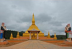 Wat Luang Kone and its chedi