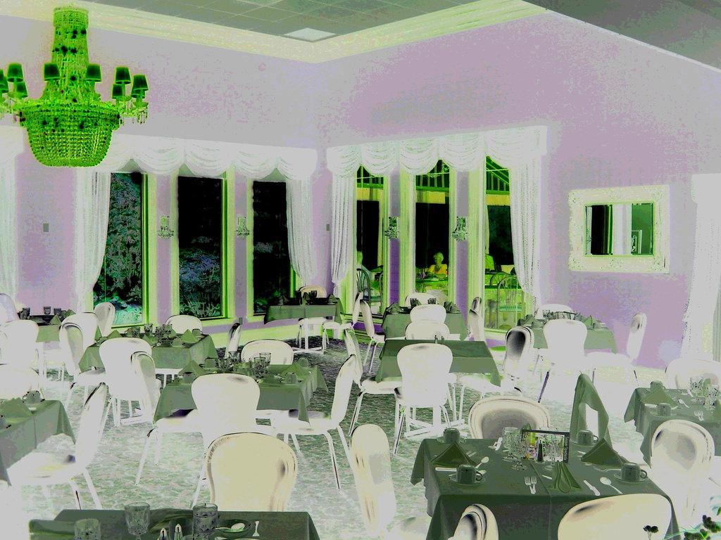 Restaurant de ma région / Négatif RVB postérisé - Juillet 2009