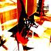 Rêve coloré de la Suprématie de la Femme /  Women's Supremacy colourful dream -  Bata shoe museum / Toronto, CANADA.  3 juillet 2007 - Version bidouillée /  Artwork.