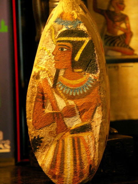 PICT7497ac Stone Painting of a Pharao