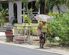 Sonnenregenschirm