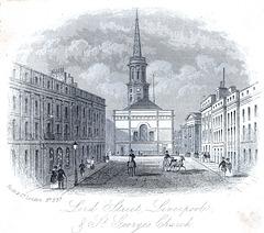Saint George's Church, Liverpool (Demolished)
