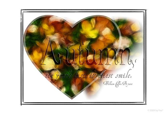 I ~♥~ autumn