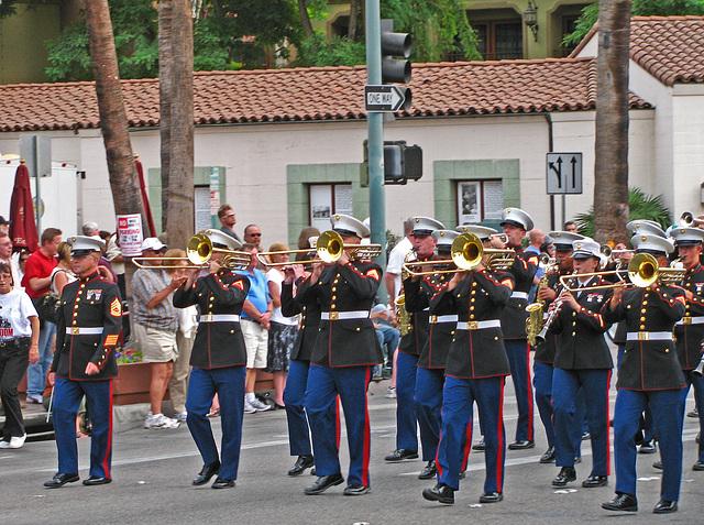 Palm Springs Veterans Parade (1768)