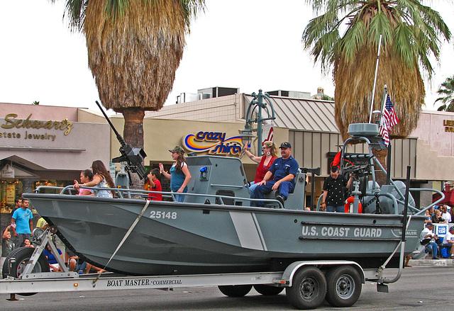 Palm Springs Veterans Parade - Coast Guard (1772)