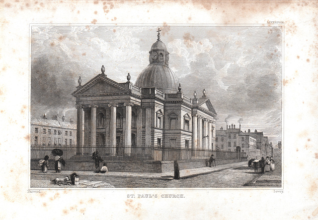 Saint Paul's Church, Liverpool (Demolished)