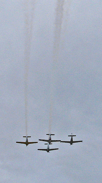 Palm Springs Veterans Parade Flyover (1763A)