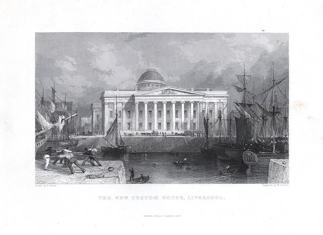 Customs House, Liverpool (Demolished)