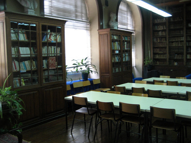 High School of Camões, library (1)
