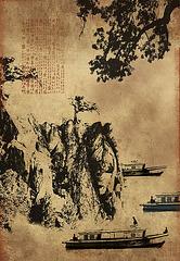 PAYSAGE CHINOIS / 1