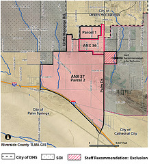 Desert Hot Springs Annexation Map 2009