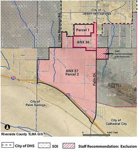 Desert Hot Springs California Map.Ipernity Desert Hot Springs Annexation Map 2009 By Ron S Log