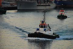 Harbour tugs in Fujairah UAE