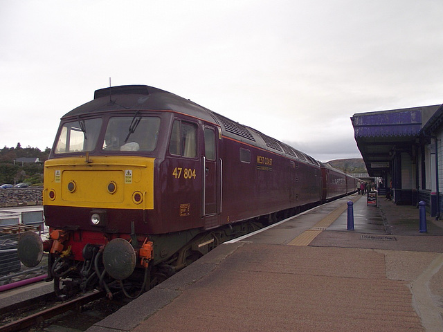47 804, stabled at Kyle