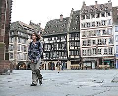 le chemin de l'école : Strasbourg