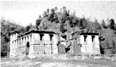 Baldan Baraivan Temple before restoration