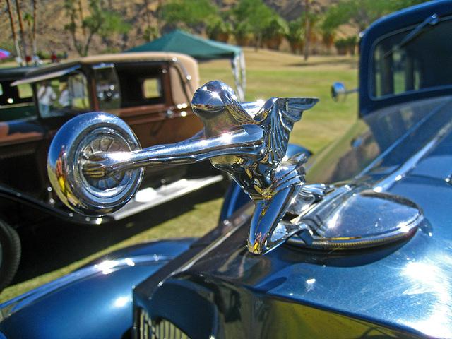1937 Packard 1500  hood ornament (4593)