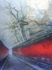 reflex hutong tree painting
