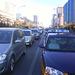 Cars standing on Jianguomen Wai
