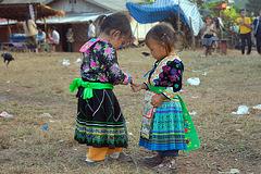 Hmong kids