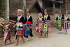 Hmong tribes on the way back to home