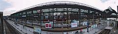 Kiel Central Station February 2003