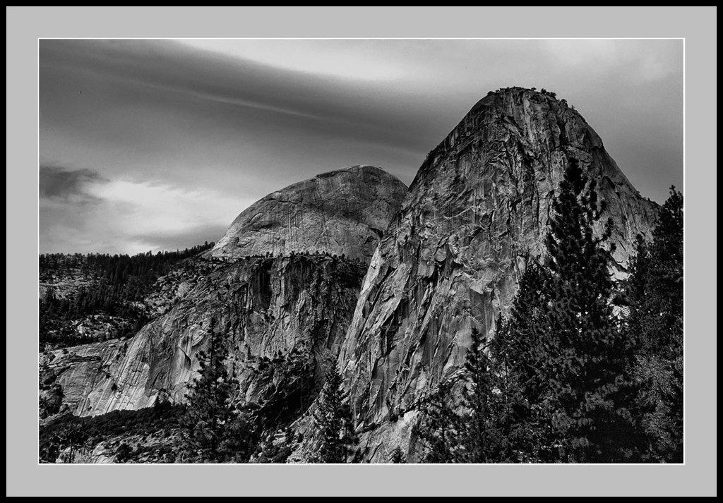Yosemite - Liberty Cap - 1986