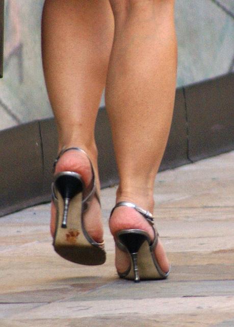 mall shot: nine west heels