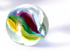 bille de verre