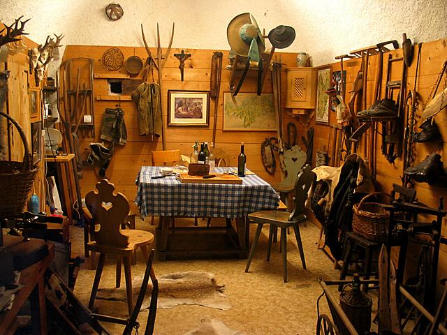 Bauernstube im Heimatmuseum Neumarkt/Südtirol