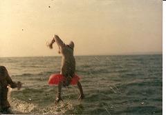 L'enfant et la mer :argentique scannée