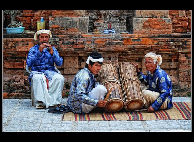 Cham musicians