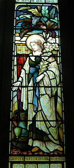 Stained Glass Memorial Window to George and Ann Hedley, St Peter's Church, Falstone, Northumberland