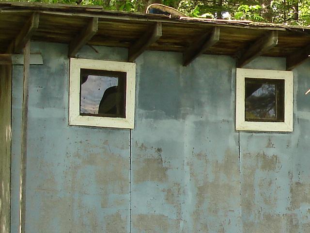 Oak lodge  /  Route 125. Vermont / USA -  À l'intersection de  Hollow drive et oak lodge drive.  25 juilet 2009.