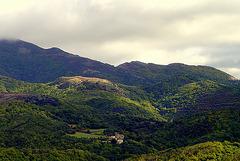 hameau  dans la montagne