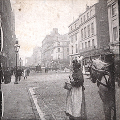 Sterioscope view of Dale Street, Liverpool c1890