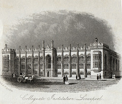 Collegiate Institution, Shaw Street, Everton, Liverpool