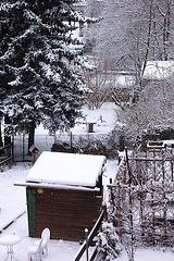 neĝkovrite- schneebedeckt