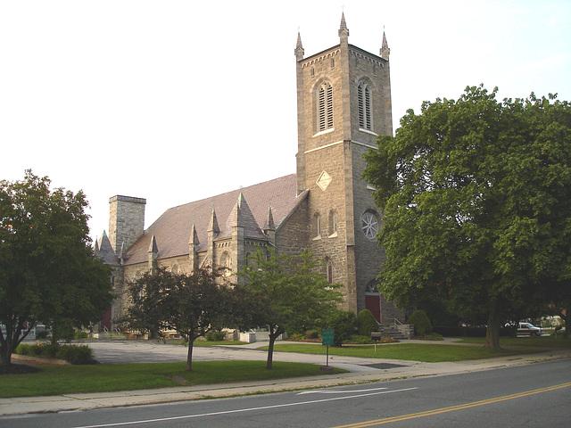 Rutland, Vermont. USA  /  25 juillet 2009   -  Trinity episcopal church
