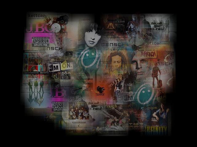 Desktop- Background: My last.fm - albums