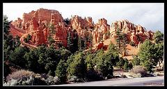 Arrivée à Bryce Canyon