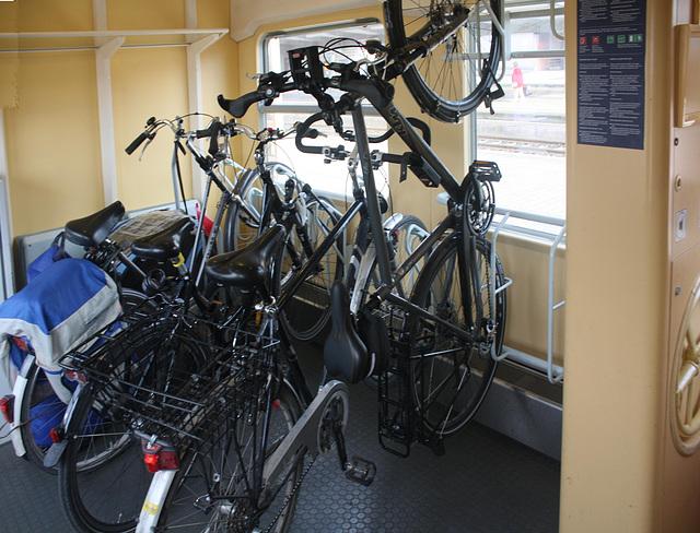 Bundesbahn und Fahrrad ....